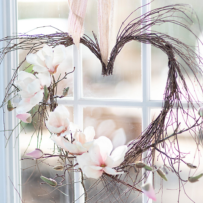 How To: A Blooming Grapevine Heart Wreath