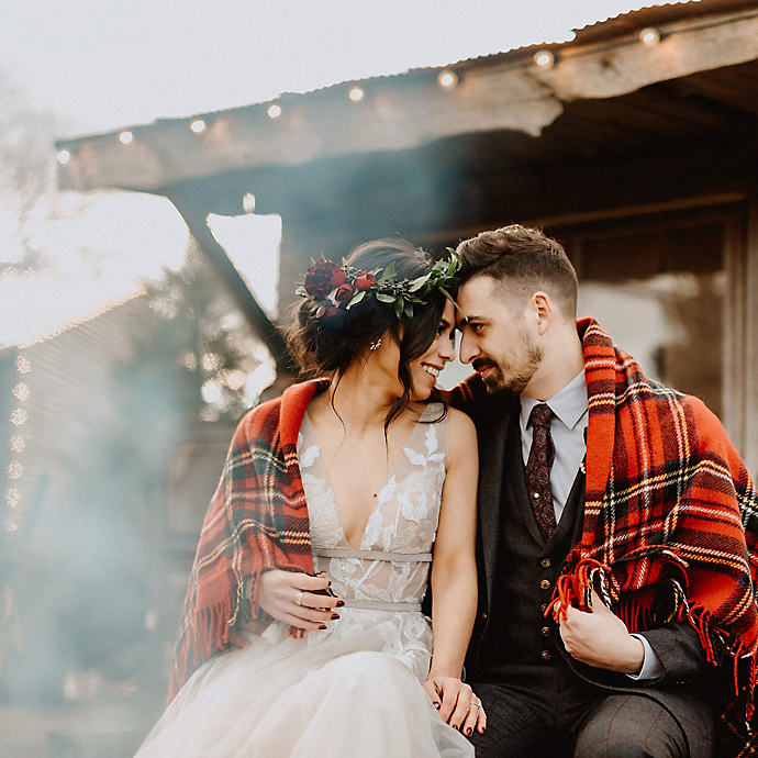 4 Winter Weddings at Terrain