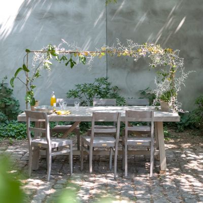 Shop the Look: A Green Garden Dinner Party with the Over-the-Table Rod