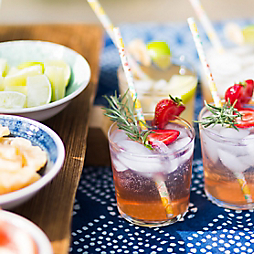 A Make-Your-Own Summer Cocktail Bar