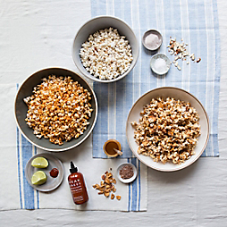 3 Ways to Spice Up Your Popcorn