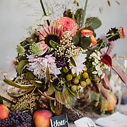 Design by Terrain: Late Summer Harvest Centerpieces