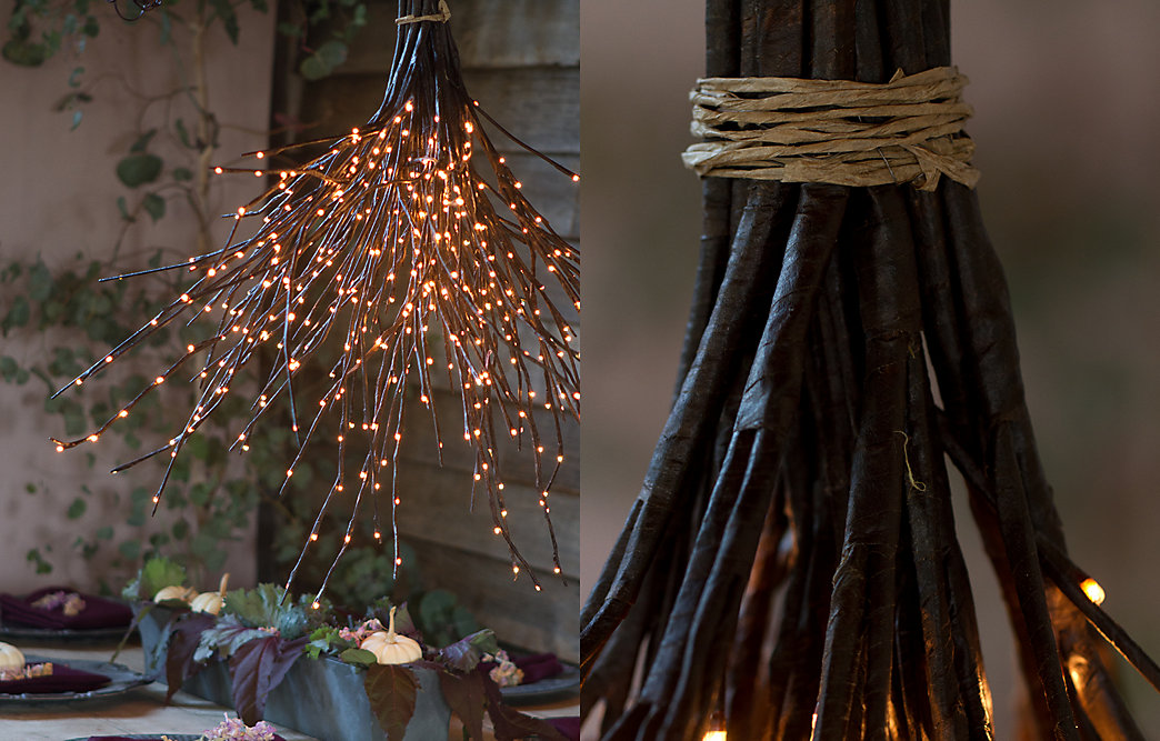 How to a woodland chandelier the blog at terrain how to a woodland chandelier mozeypictures Images