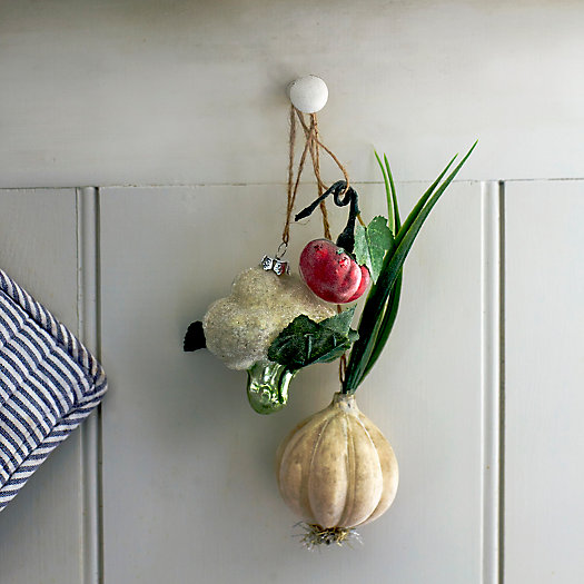 View larger image of Shop the Look: Veggie Ornaments in the Kitchen