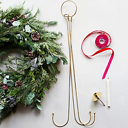 How-To: A Holiday Greens Chandelier