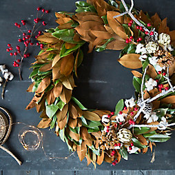 Our Winter Wreath Workshop