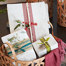 3 Ideas for Natural Gift Wrap