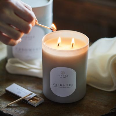 Linnea's Lights Candle, Cashmere