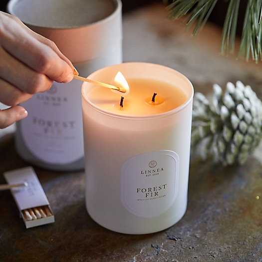View larger image of Linnea's Lights Candle, Forest Fir
