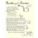 Recipe of the Week: Home Made Risotto al Limone