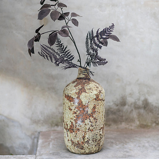 View larger image of Shop the Look: Faux + Preserved Stems in Barnacle Vase, Simple Stems in Grayscale