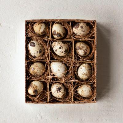 Dozen Quail Eggs
