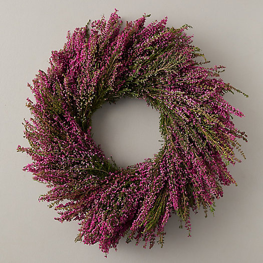 View larger image of Heather Holiday Wreath