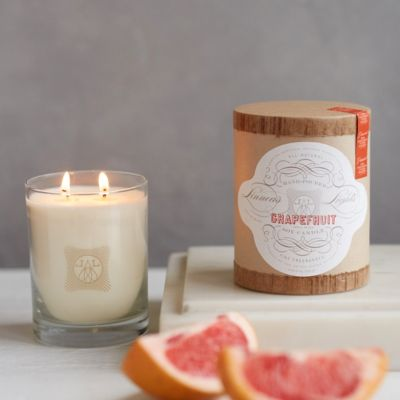 Linnea's Lights Candle, Grapefruit