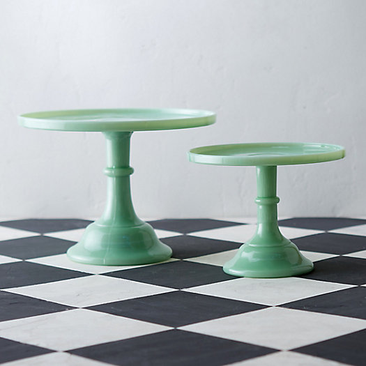 View larger image of Jadeite Cake Stand