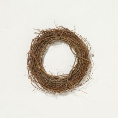 Dried Grapevine Wreath
