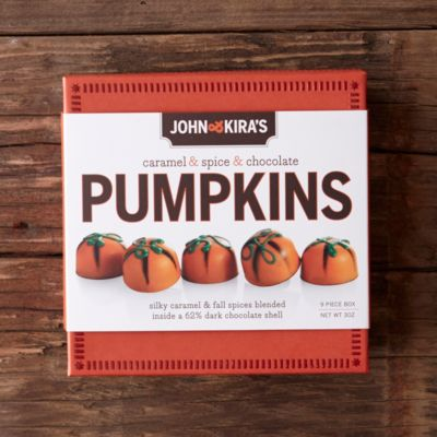 John & Kira's Pumpkin Spice Chocolates