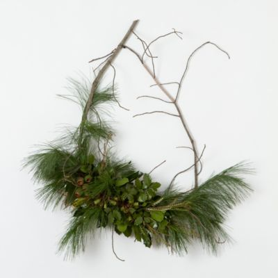 Pine & Bells Wreath