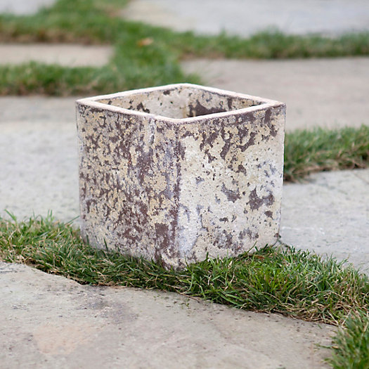 View larger image of Barnacle Cube Pot