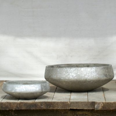 Silver Brushed Bowl