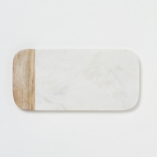 View larger image of Marble & Wood Cheese Board