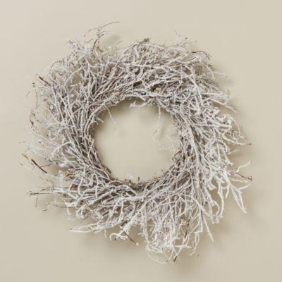 Flocked Wreath