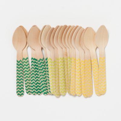 Gelato Spoons, Chevron