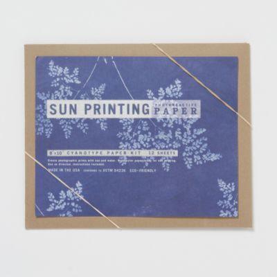 Sun Printing Kit, Large Paper