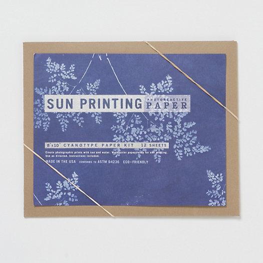 View larger image of Sun Printing Kit, Large Paper