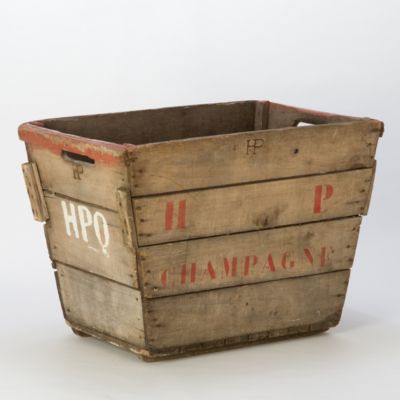 Vintage Champagne Crate