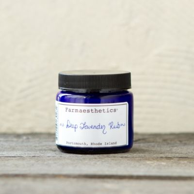 Farmaesthetics Deep Lavender Rub