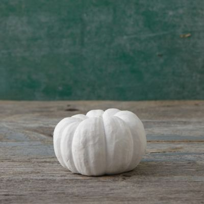 Cast Stone Pumpkin, Small