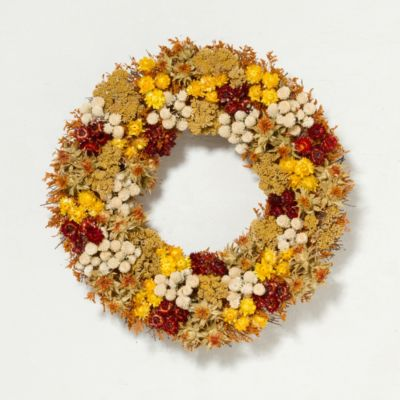 Fall Flowers Wreath