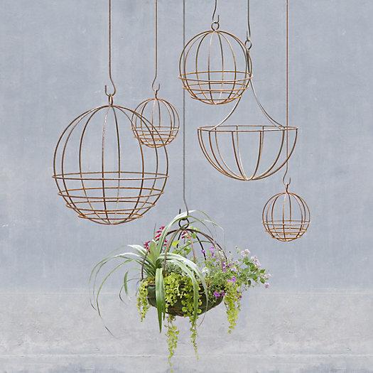 View larger image of Sphere Hanging Basket