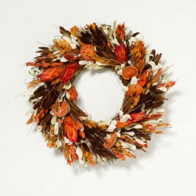 Sunset Quince Wreath