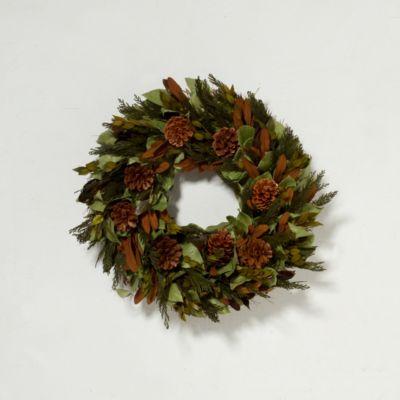 Copper Pine Wreath