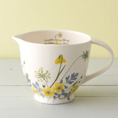 Garden Ceramic Measuring Jug