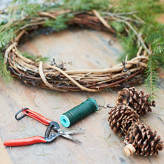 View larger image of Holiday Wreath Making Workshop, 2:30pm