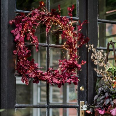 Shop the Look: A Glowing Preserved Wreath