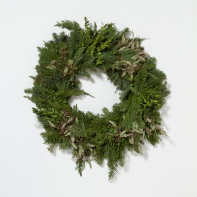 Fresh Greens Wreath