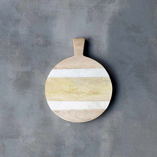 View larger image of Marble & Wood Serving Board