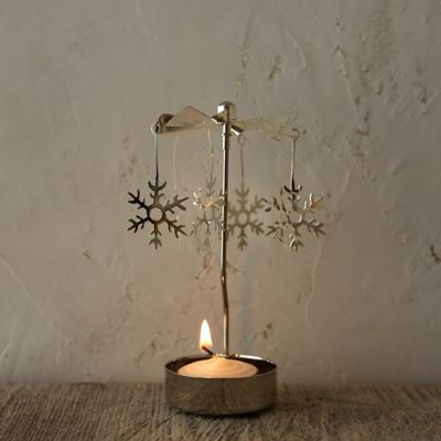 Snowflake Rotary Candleholder