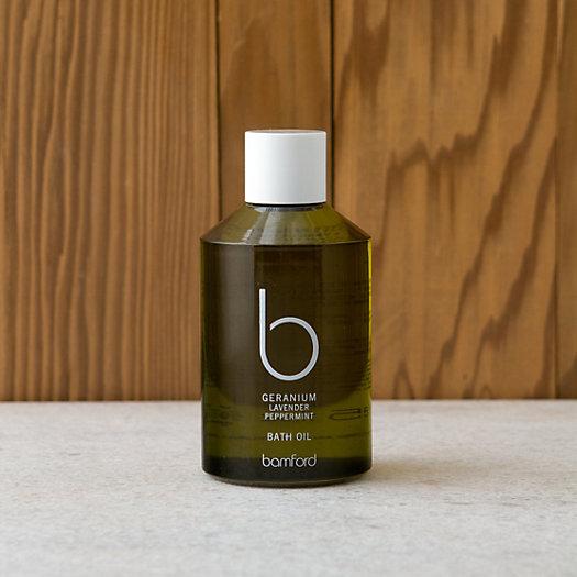View larger image of Bamford Geranium Bath Oil