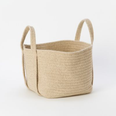 Natural Wool Basket