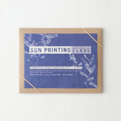 Sun Printing Kit, Greeting Cards