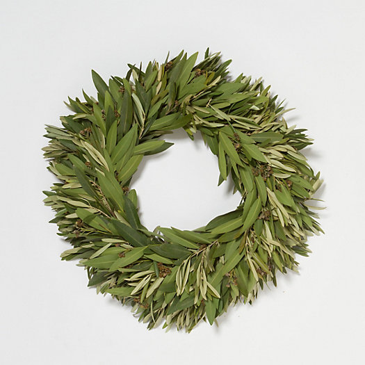 View larger image of Fresh Bay & Olive Wreath