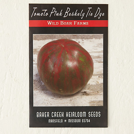 View larger image of Pink Berkeley Tie-Dye Tomato Seeds