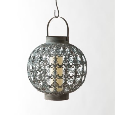 Open Brocade Sphere Lantern