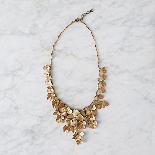 View larger image of Hydrangea Petal Necklace
