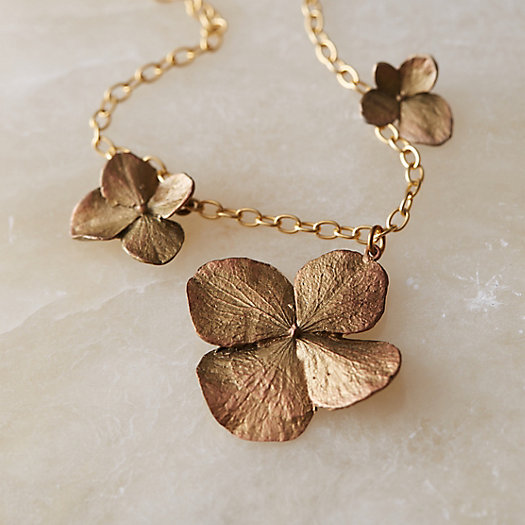 View larger image of Scattered Hydrangea Necklace